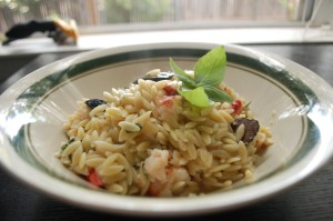 Truffled Lobster with Orzo